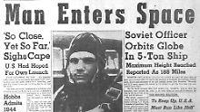 Am 12. April 1961 katapultiert die Sowjetunion die Menschheit in eine neue Ära. Das sorgt auch in den USA für Schlagzeilen.