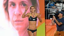Der Sport-Tag: Schwangere Beachvolleyball-Queen heult bei Windel-Werbung