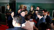 Das beweisen Bilder, die China und Nordkorea nach dem Besuch gemeinsam veröffentlicht haben.