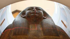 Vor aller Augen - 150 Jahre unentdeckt: Jahrtausende alte Mumie überrascht Forscher