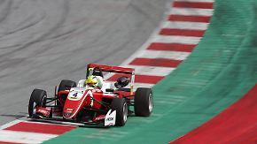 Testrennen in der Formel 3: Mick Schumacher fährt Bestzeiten ein