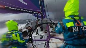 Ausnahmezustand beim Ocean Race: Teams trauern und kämpfen gegen extreme Wetterlage