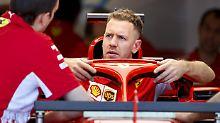Die Zweifel bleiben - Sebastian Vettel will in Bahrain weiter Selbstvertrauen tanken.