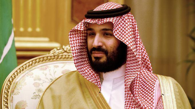 Alle Menschen hätten das Recht, friedlich in ihrem Staat zu leben, sagt der saudi-arabische Kronprinz Mohammed bin Salman.