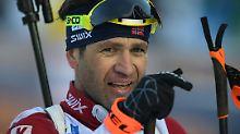 Abschied von Björndalen: Mr. Biathlon beendet seine Karriere