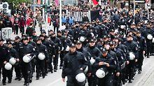 Der Einsatz zahlreicher Polizisten treibt die Sicherheitskosten für den G20-Gipfel in die Höhe.