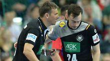 Sie reden jetzt mehr: Handball-Bundestrainer Christian Prokop und Patrick Groetzki.