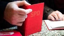 Ende März hatten 457.700 Menschen ein SPD-Parteibuch.