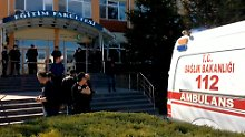 Angriff auf Campus in der Türkei: Uni-Mitarbeiter erschießt vier Kollegen