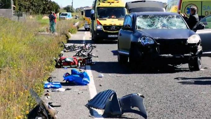 Mallorca Unfall Deutscher