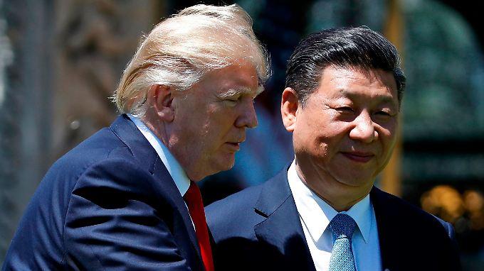 US-Präsident Donald Trump und Chinas Staatschef Xi Jinping.