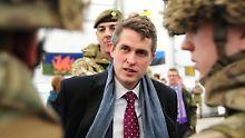 Der britische Verteidigungsminister Gavin Willliamson