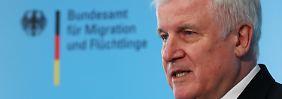 Innenminister ätzt gegen SPD: Seehofer macht Druck bei Flüchtlingsfrage