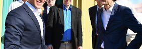 """Mit einem """"Konservativen Manifest"""" wollen unionsinterne Kritiker um Alexander Mitsch (rechts) die CDU wieder rechts der Mitte verorten."""