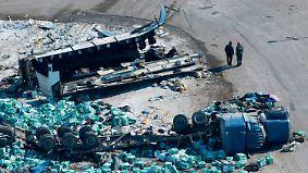 15 Tote in Kanada: Eishockey-Teambus kollidiert mit Sattelschlepper