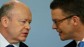 Deutsche Bank tauscht Chef aus: Cryan geht, Sewing kommt