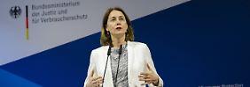 Nach Puigdemont-Urteil: Ministerium dementiert Barley-Äußerung