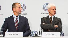 """Führungswechsel bei Volkswagen: """"Es gab weder Anzeichen noch Gerüchte"""""""
