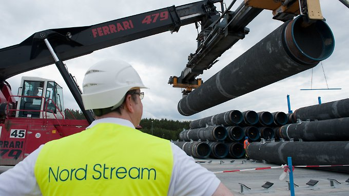 Durch die gut 1200 Kilometer lange Leitung soll russisches Erdgas durch die Ostsee nach Deutschland gepumpt werden.