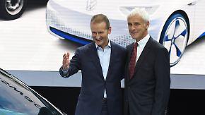 Überraschende Personalrochade: Diess soll Müller als VW-Chef beerben