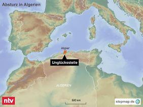 Militärbasis nahe der Hauptstadt Algier: Der Luftwaffenstützpunkt Boufarik liegt im Hinterland der algerischen Mittelmeerküste.