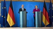 Teambuilding für Einzelkämpfer: Merkels vorsichtige Mahnung an die Minister