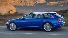 Die Preise für den Audi A6 Avant dürften bei rund 46.500 Euro starten – und wie gehabt gut 2500 Euro über denen der Limousine liegen.