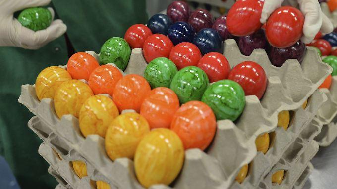 Die Preise für Molkereiprodukte und Eier stiegen im März um 10,4 Prozent.