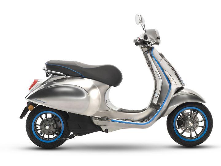 Noch 2018 will Piaggio die Vespa Elettrica in den Markt bringen.