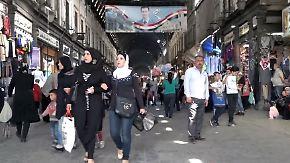 """""""Trump entscheidet nicht unsere Zukunft"""": Kriegsbedrohte Syrer in Damaskus bewahren Ruhe"""