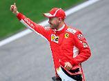 Ferrari dominiert in Shanghai: Vettel rast in China zur Sensations-Pole