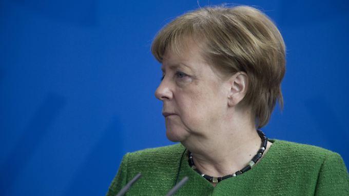 """Raketenangriff auf Syrien: Merkel nennt Bombardement """"erforderlich und angemessen"""""""