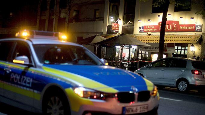 """Am Freitagabend erschoss der Mann seine Ex-Freundin im Keller des Restaurants """"Paul's""""."""