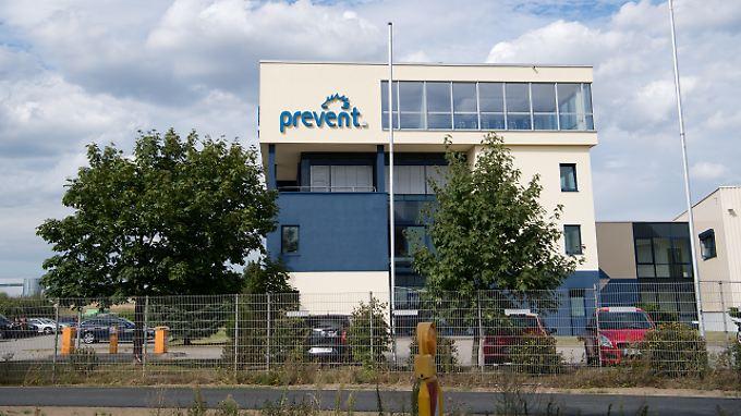 Ein Firmensitz der Prevent-Gruppe im niedersächsischen Warmenau.