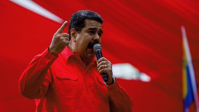 """Maduro nennt das Treffen der OAS """"Zeitverschwendung""""."""