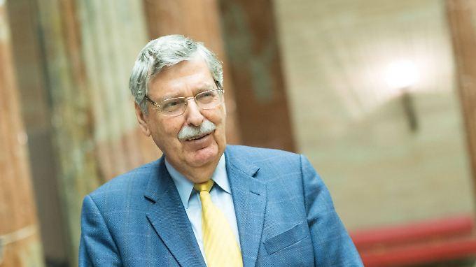 Norbert Steger war von 1980 bis 1986 Parteichef der FPÖ. Von 1983 und 1987 war er österrechischer Vizekanzler.
