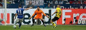 Königsblau regiert im Pott: Schalke ernüchtert den BVB im Vize-Derby