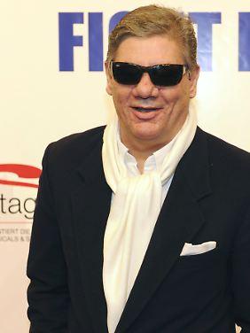 Die Sonnenbrille als Markenzeichen: Claude-Oliver Rudolph