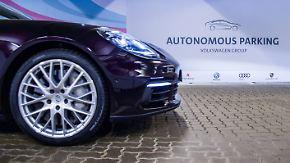 Test am Hamburger Flughafen: Auto sucht sich seinen Parkplatz selbst