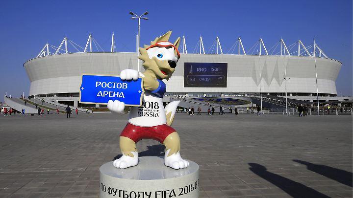 Politische Beziehungen sollen sich nicht auf das Turnier in Russland auswirken.
