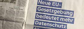 """""""Mehr Sicherheit für dich"""": Facebook wirbt für EU-weiten Datenschutz"""