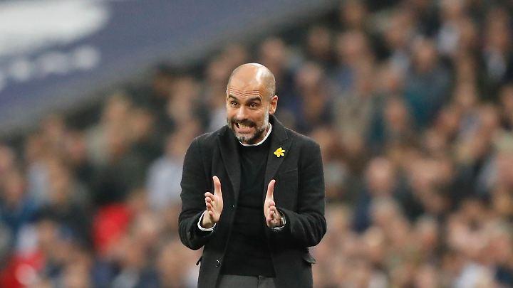 """""""Guardiolas Champions werden in die Geschichte eingehen als eines der besten Teams, das den englischen Fußball je geschmückt hat."""""""