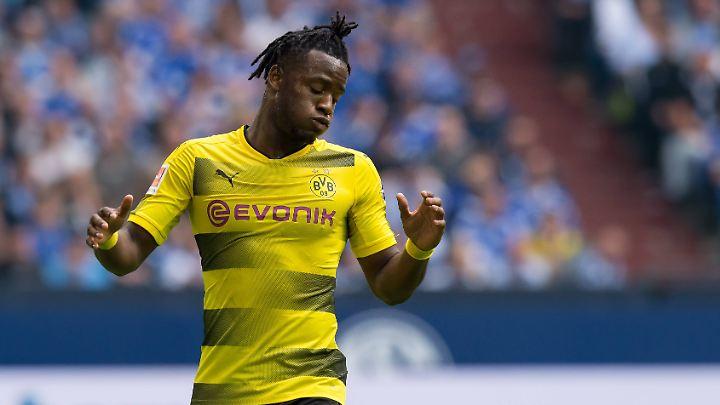 Michy Batshuayi kann dem BVB im Saisonendspurt wohl nicht mehr helfen.
