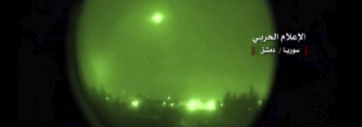 Verwirrende Bilder aus Syrien: Fehlalarm löst offenbar Raketenabwehr aus
