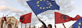 Albanien und Mazedonien: EU empfiehlt Beitrittsverhandlungen
