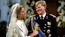 """Die Argentinierin ist der Glücksfall am niederländischen Hof: Sie hat den als """"Prins Pilsje"""" verschrienen Party-Prinzen gezähmt und einen ..."""