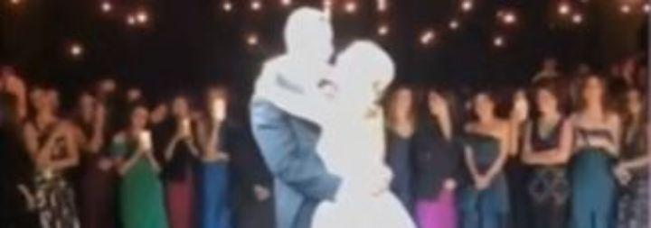 Kaum zu glauben, aber wahr: Hochzeit geht in Flammen auf