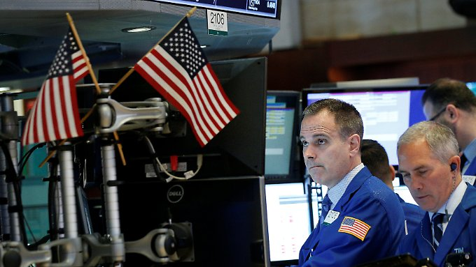 Starke Konjunktursignale und frische Zahlen von Netflix und Goldman Sachs: An der Nyse hält der jüngste Aufwärtstrend an.