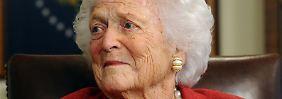 Anwältin amerikanischer Familien: Ex-First-Lady Barbara Bush ist tot