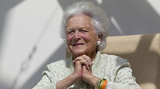 Beliebte Ex-First-Lady: Barbara Bush stirbt mit 92 Jahren